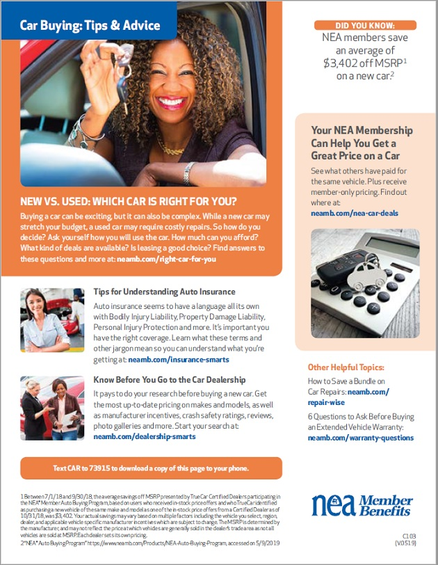 HCEA Member Benefits Car Buying Tips and Advice