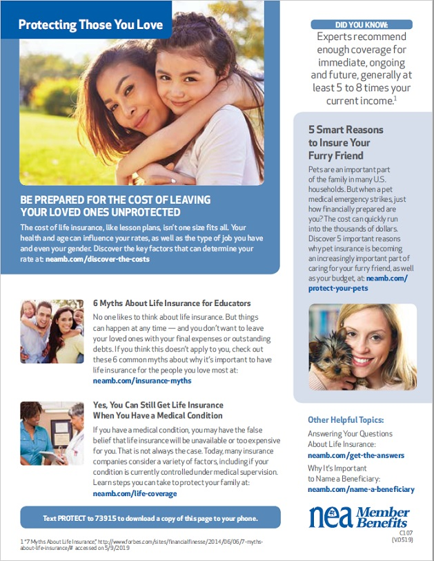 HCEA Member Benefits Protecting Those You Love